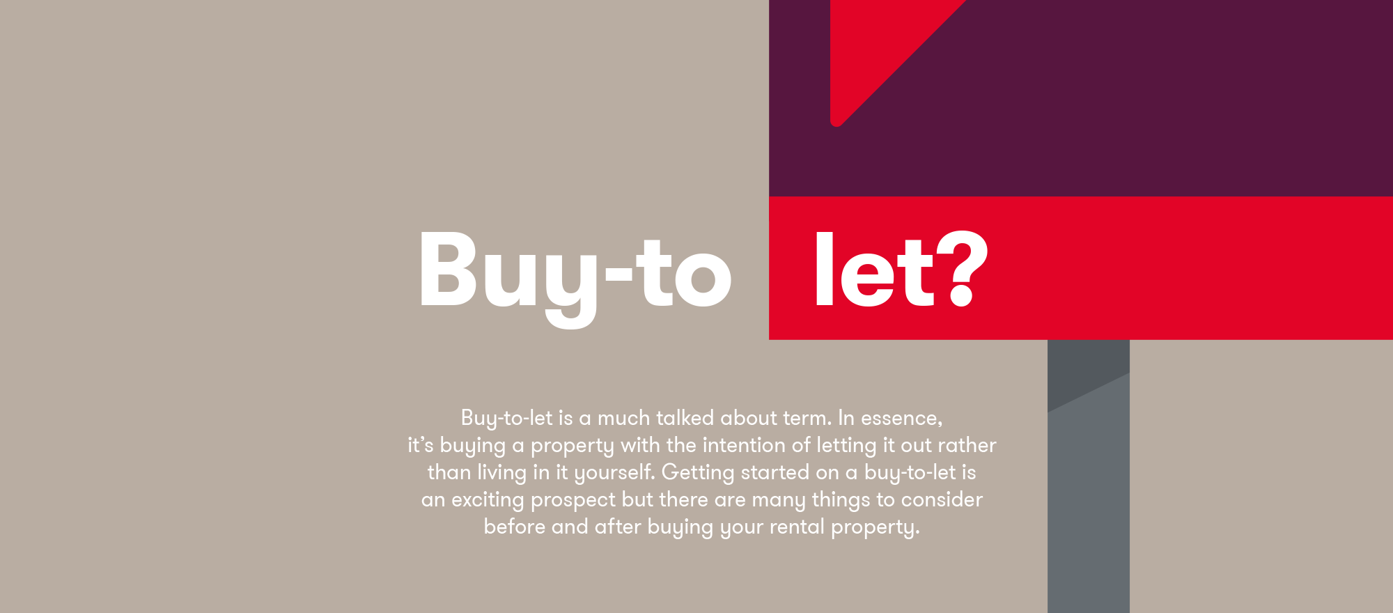 Buy-to-let?